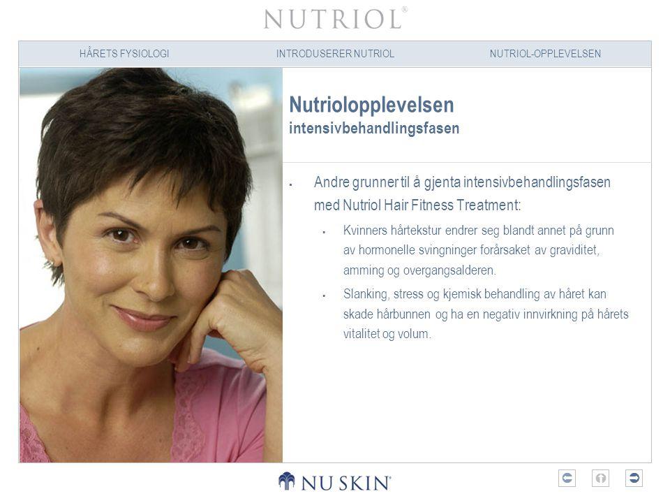 Nutriolopplevelsen intensivbehandlingsfasen