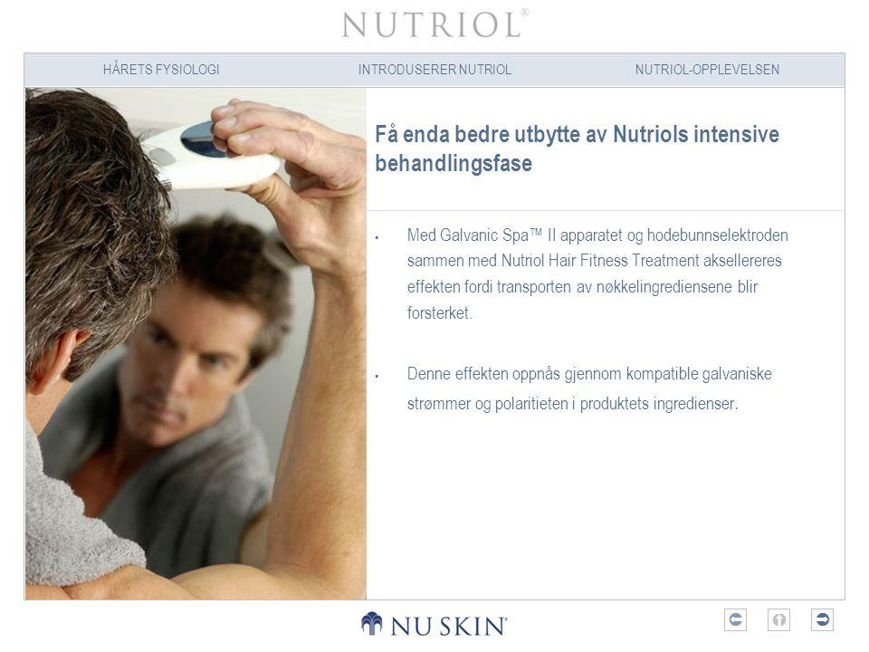 Få enda bedre utbytte av Nutriols intensive behandlingsfase
