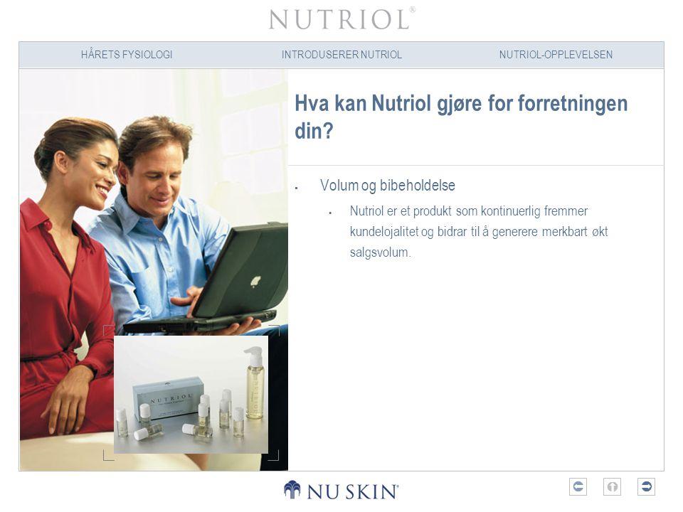 Hva kan Nutriol gjøre for forretningen din