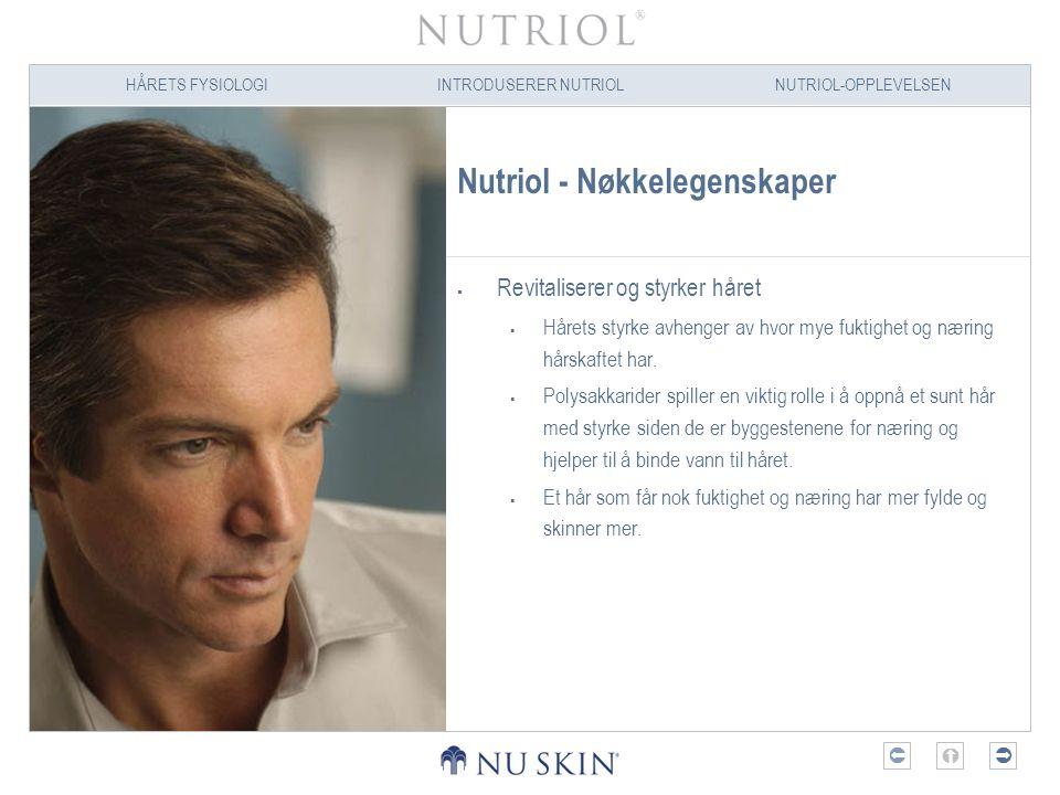 Nutriol - Nøkkelegenskaper