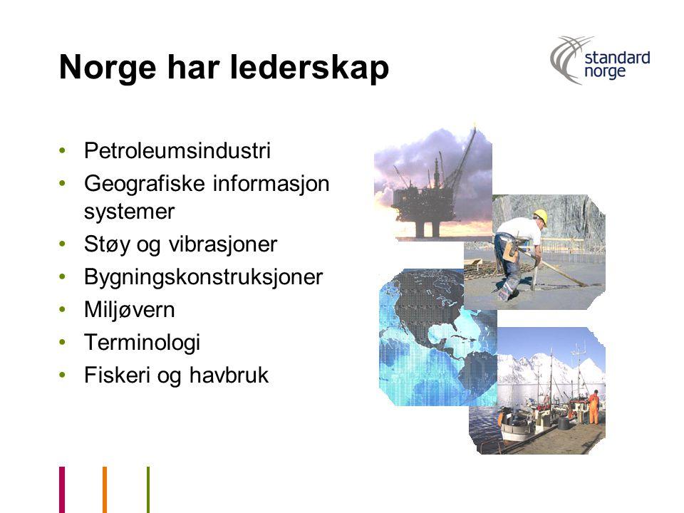 Norge har lederskap Petroleumsindustri