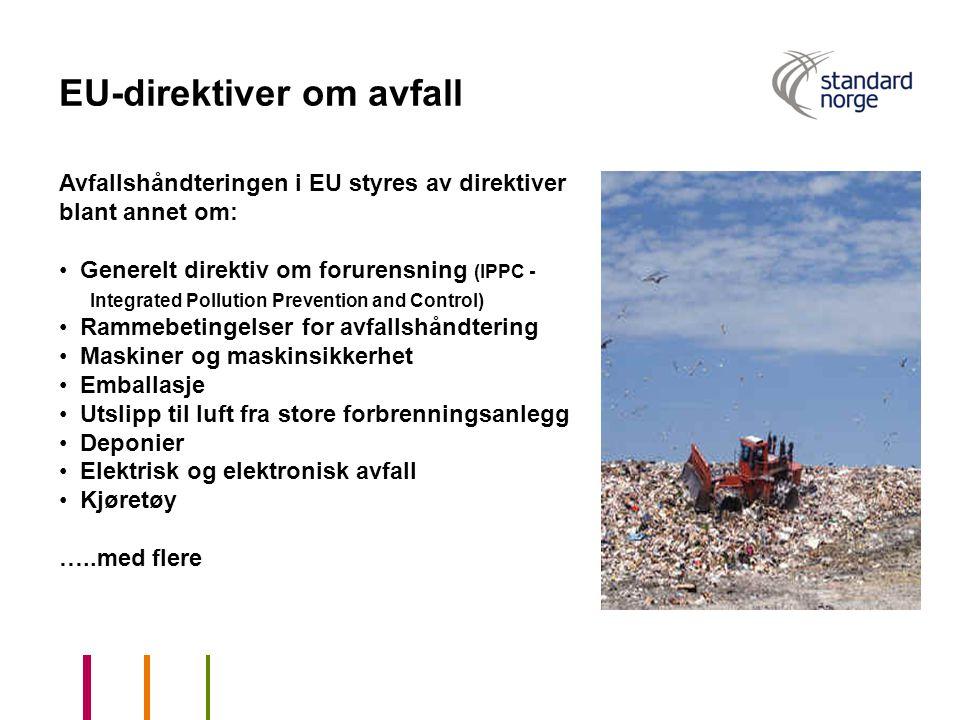EU-direktiver om avfall