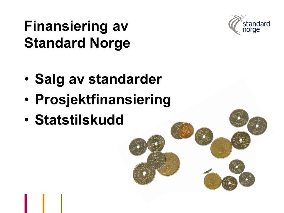 Finansiering av Standard Norge