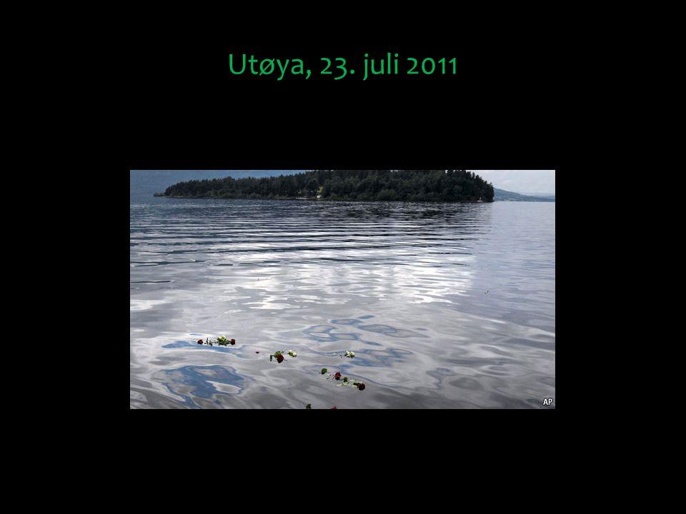 Utøya, 23. juli 2011