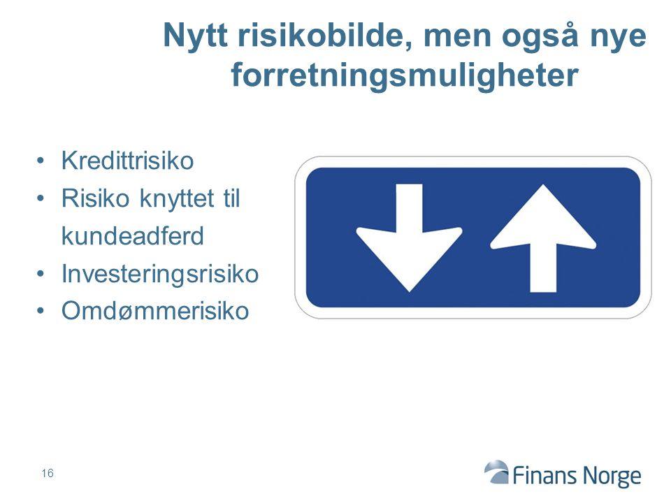 Nytt risikobilde, men også nye forretningsmuligheter