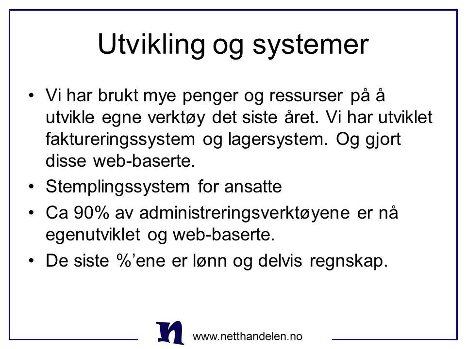 Utvikling og systemer