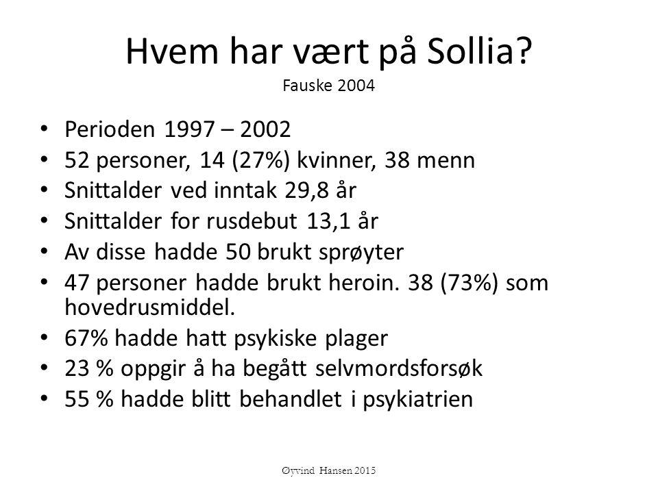 Hvem har vært på Sollia Fauske 2004