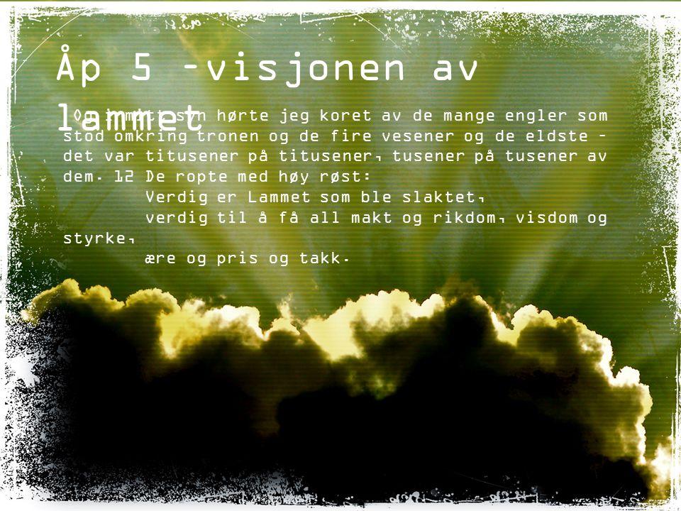 Åp 5 –visjonen av lammet