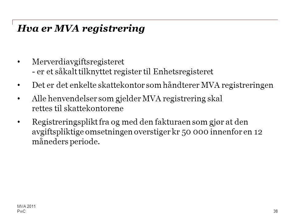 Hva er MVA registrering