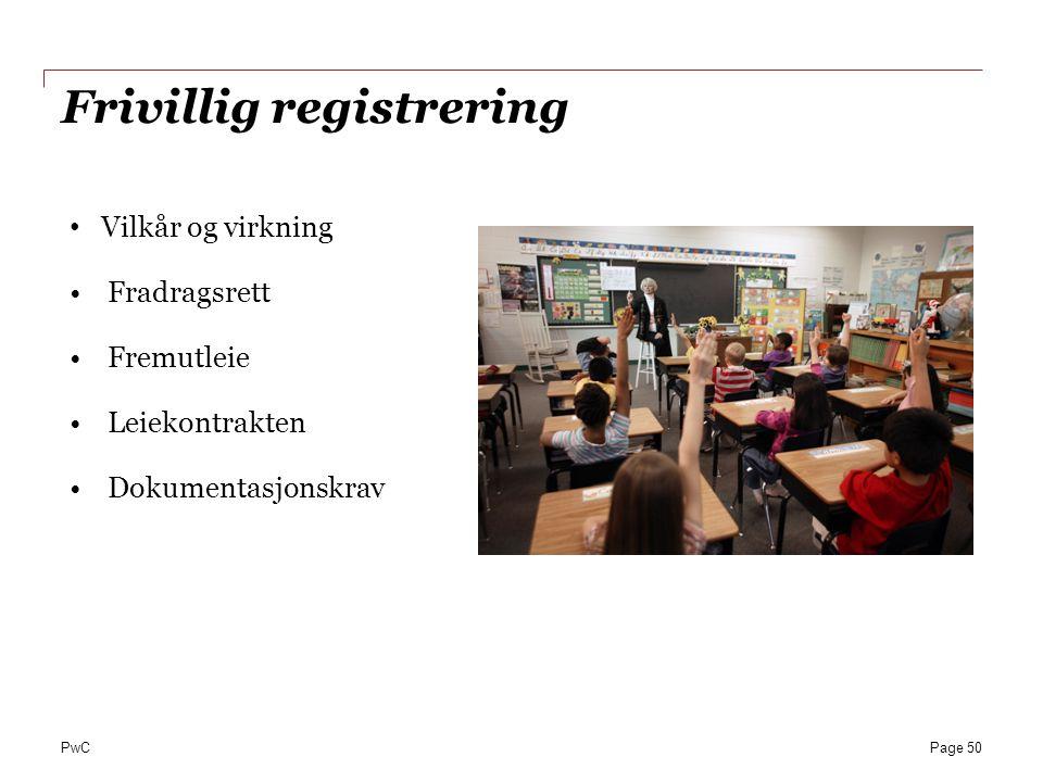 Frivillig registrering