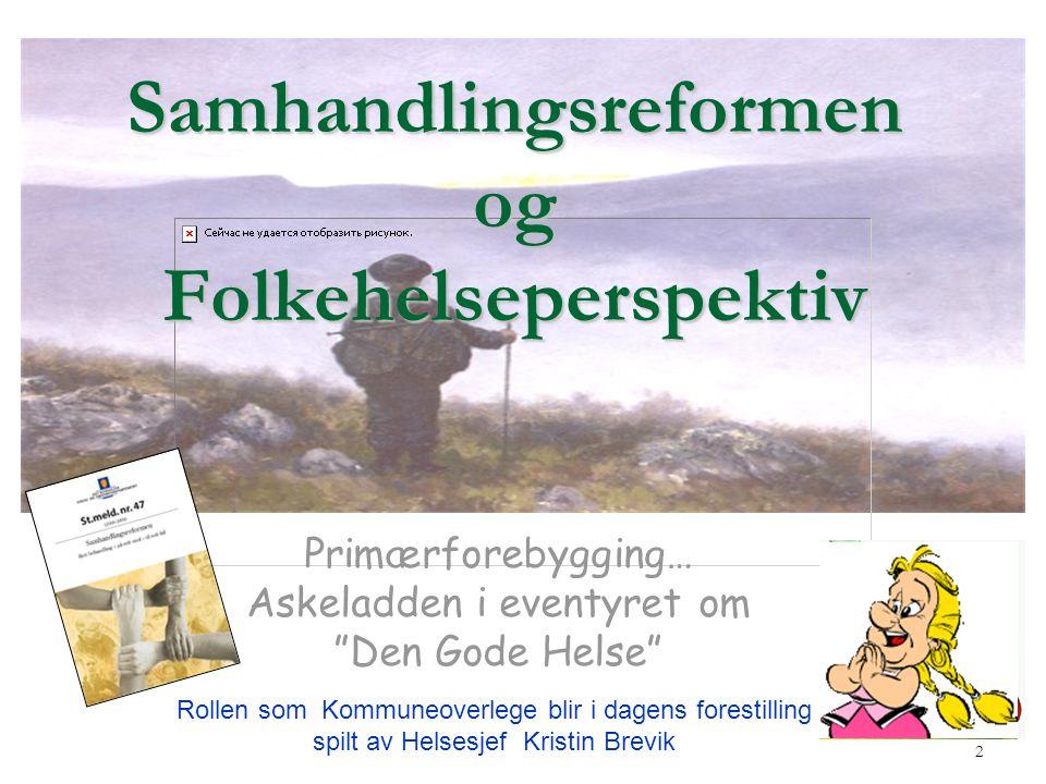 Samhandlingsreformen og Folkehelseperspektiv