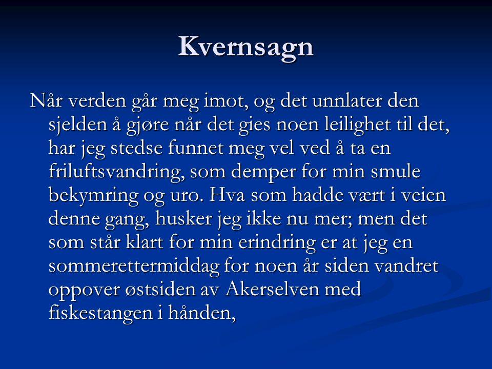 Kvernsagn