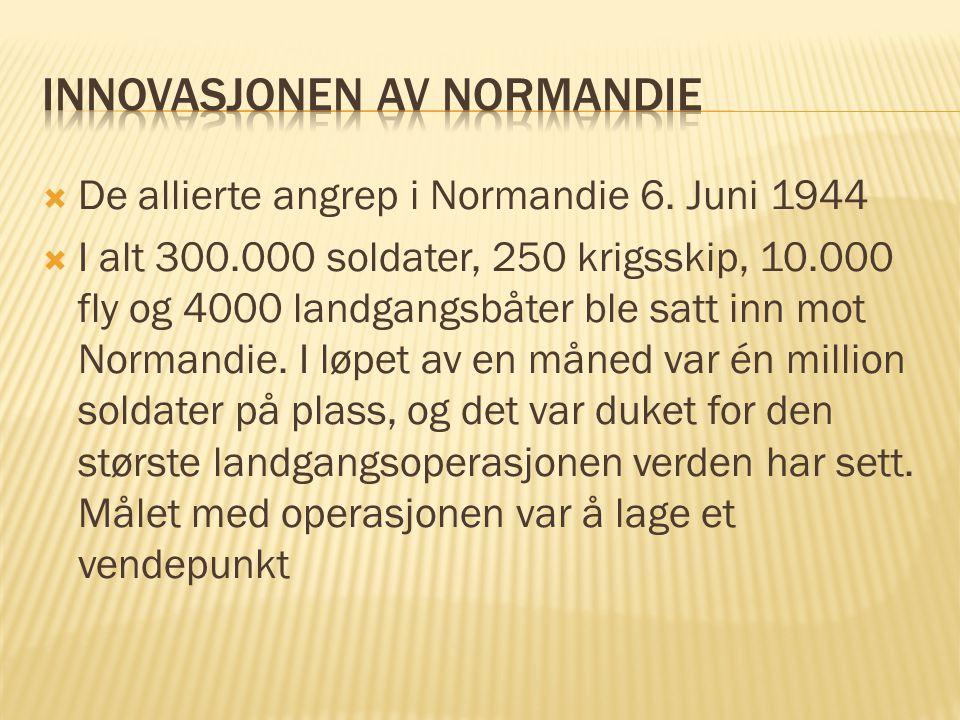 Innovasjonen av Normandie