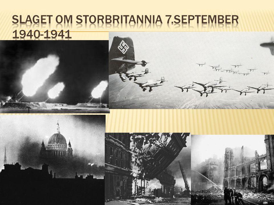 Slaget om storbritannia 7.september 1940-1941