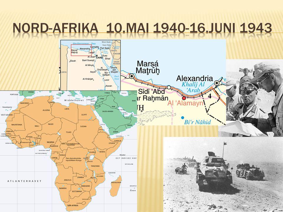 Nord-afrika 10.mai 1940-16.juni 1943