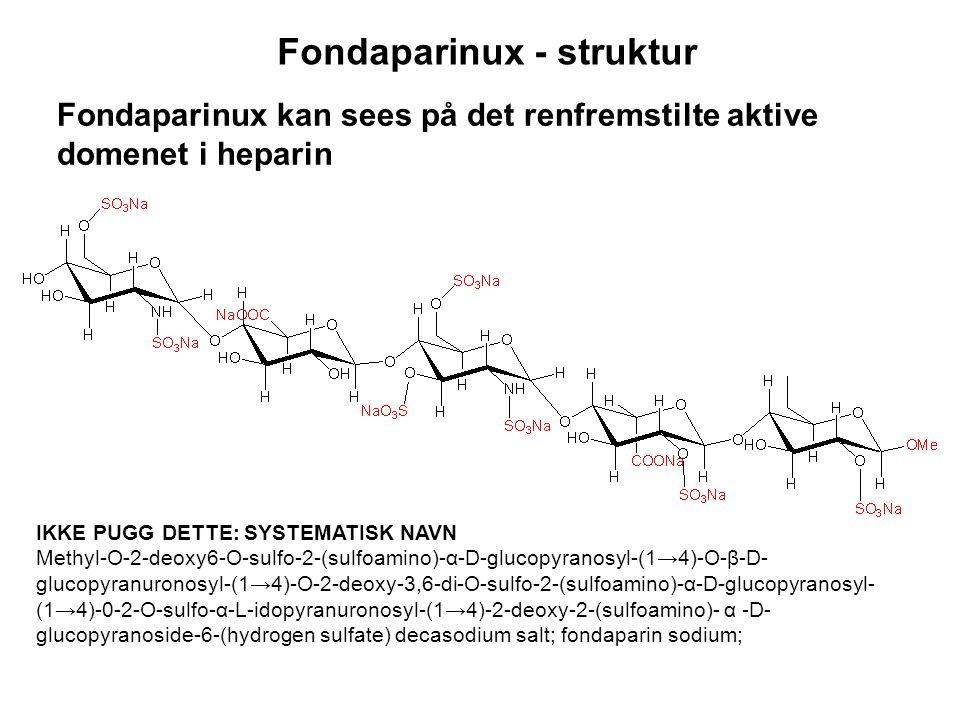 Fondaparinux - struktur