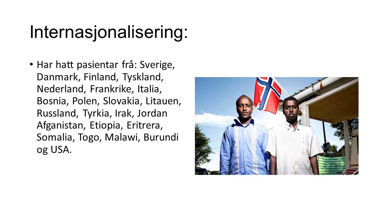 Internasjonalisering: