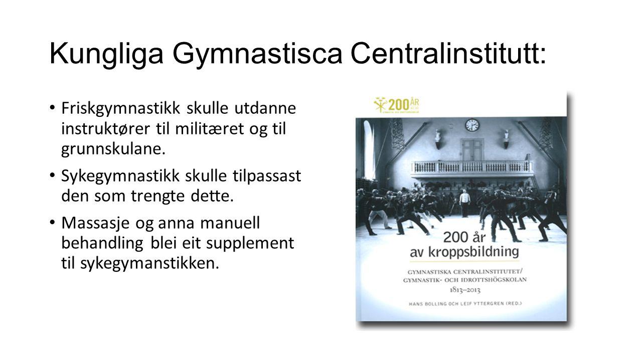 Kungliga Gymnastisca Centralinstitutt: