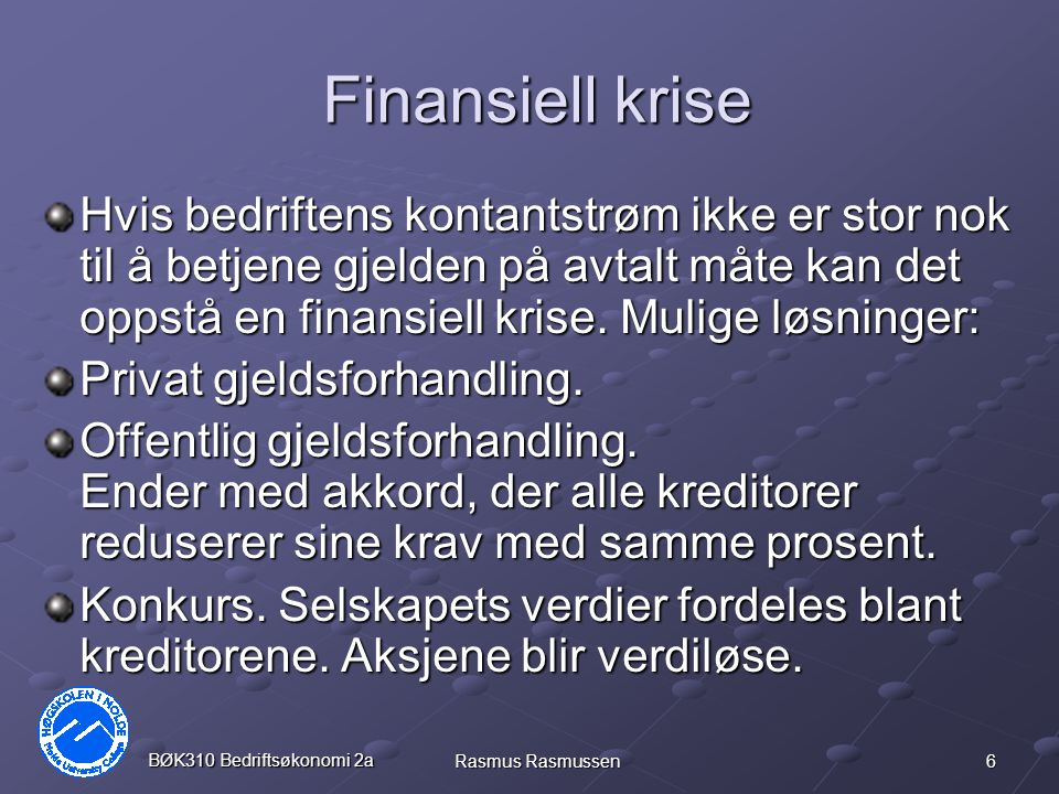 Finansiell krise