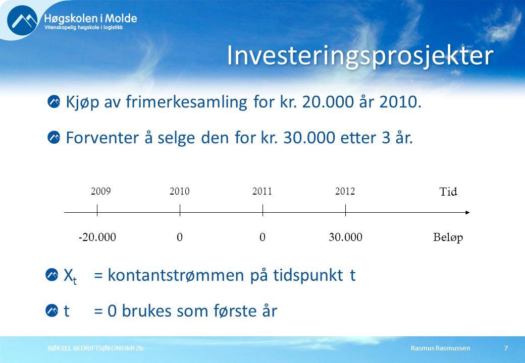 Investeringsprosjekter