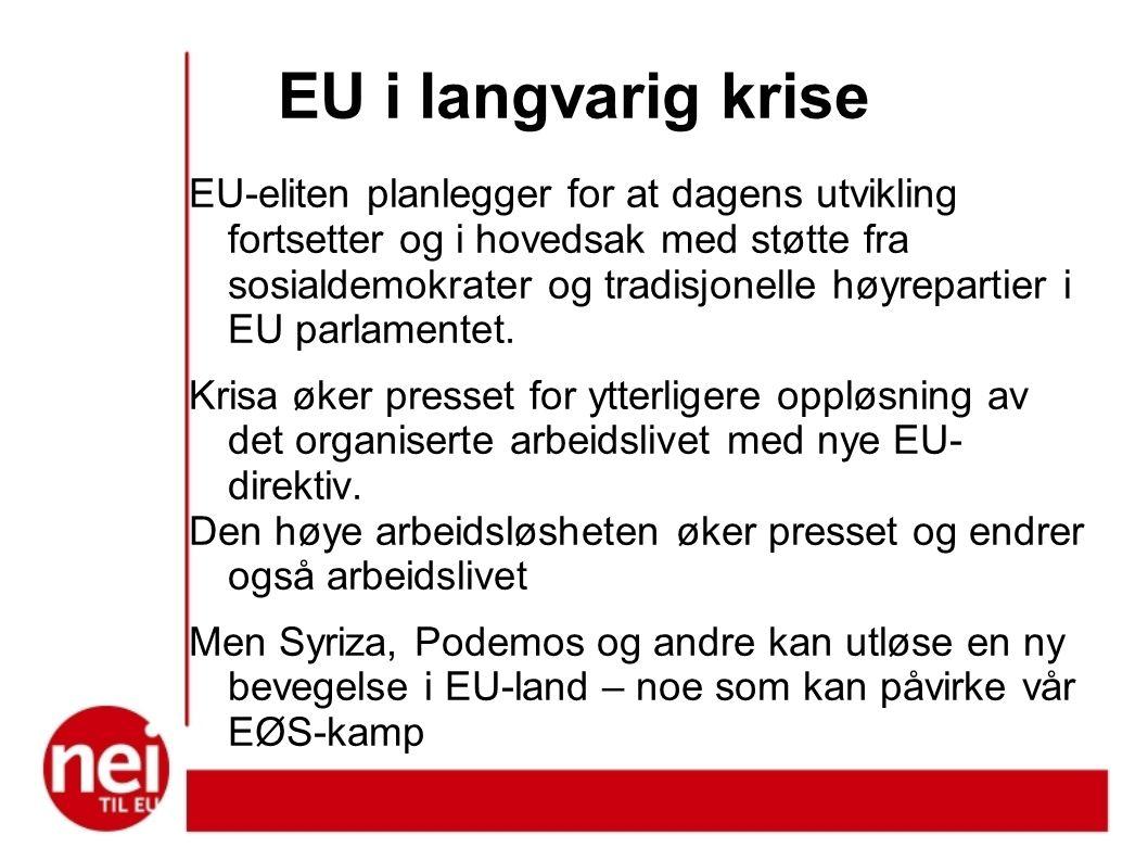 EU i langvarig krise