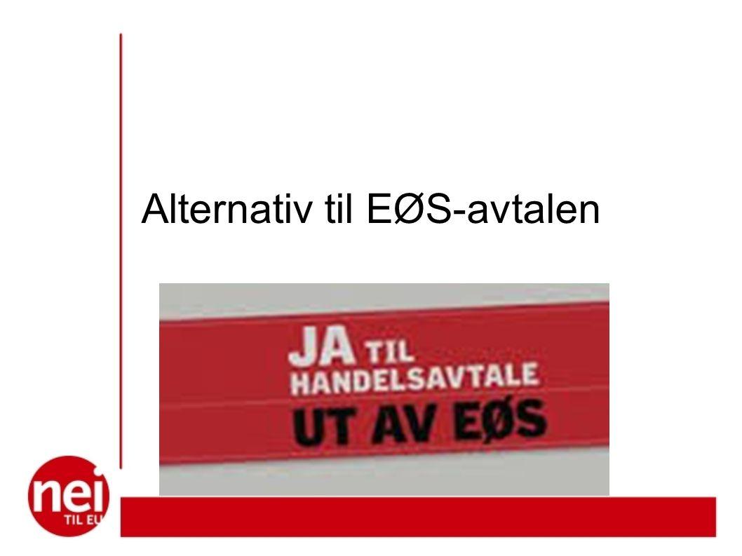 Alternativ til EØS-avtalen