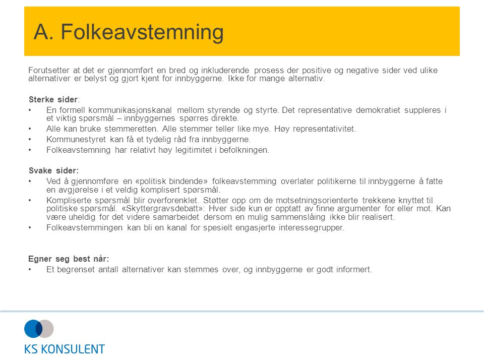 A. Folkeavstemning