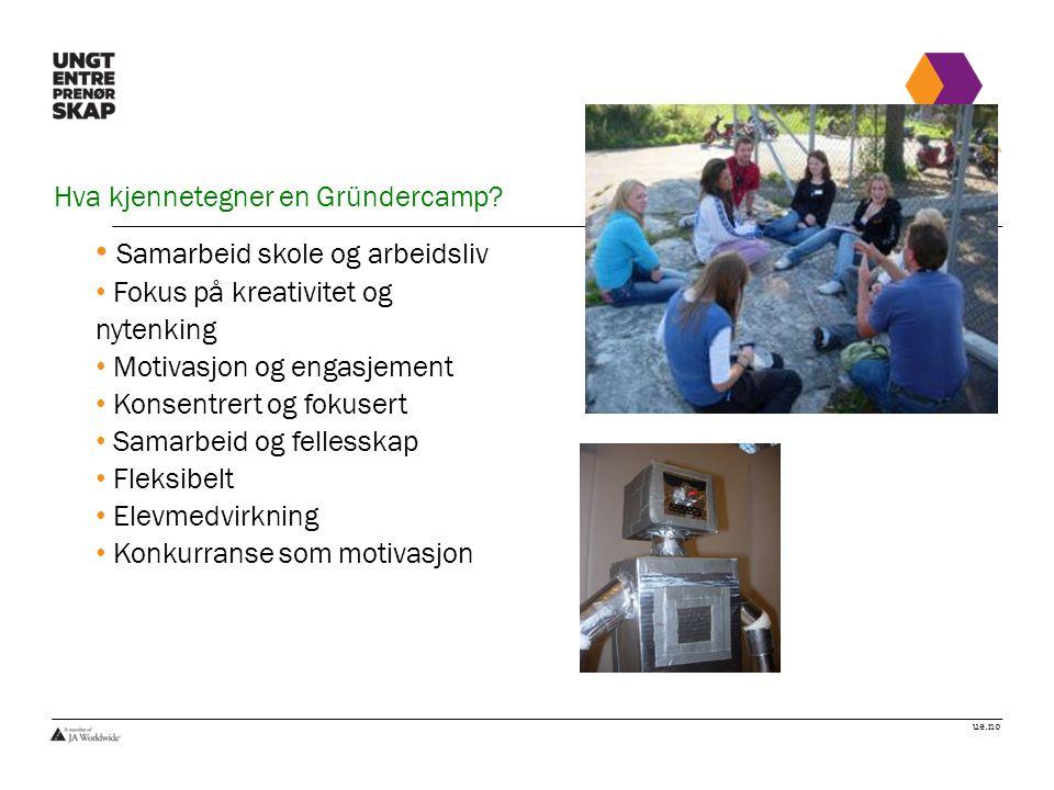 Hva kjennetegner en Gründercamp