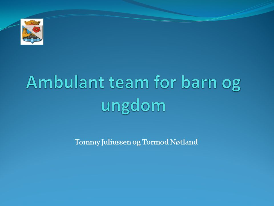 Ambulant team for barn og ungdom