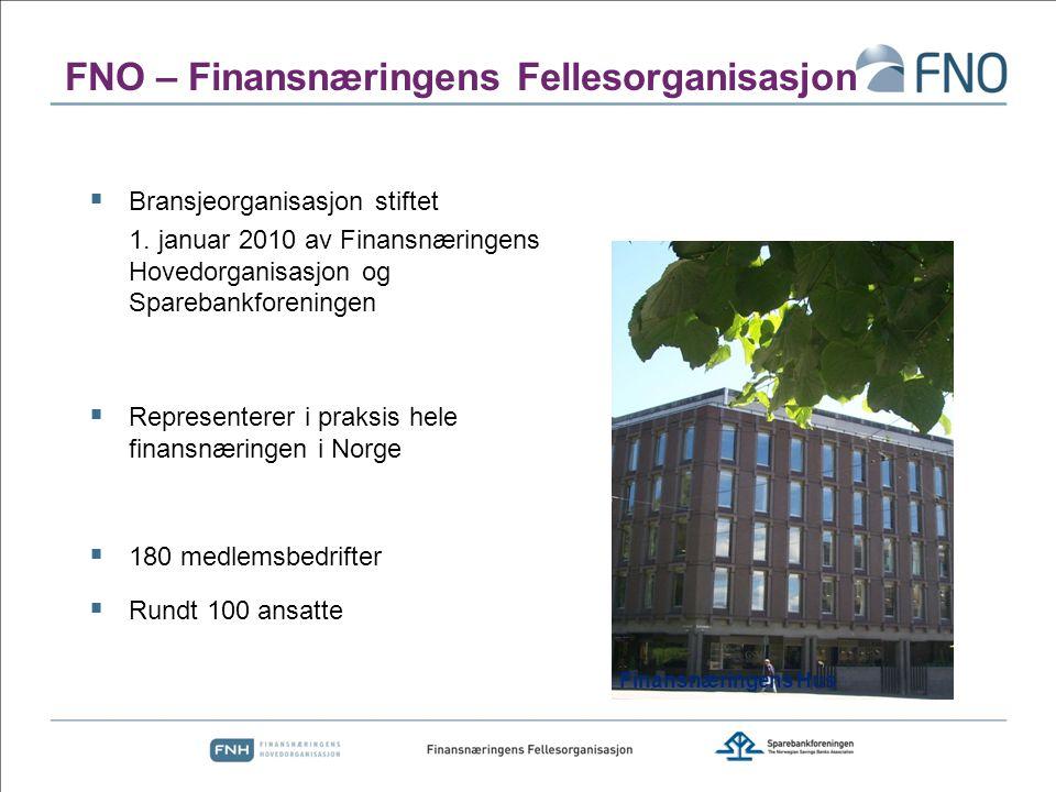 FNO – Finansnæringens Fellesorganisasjon