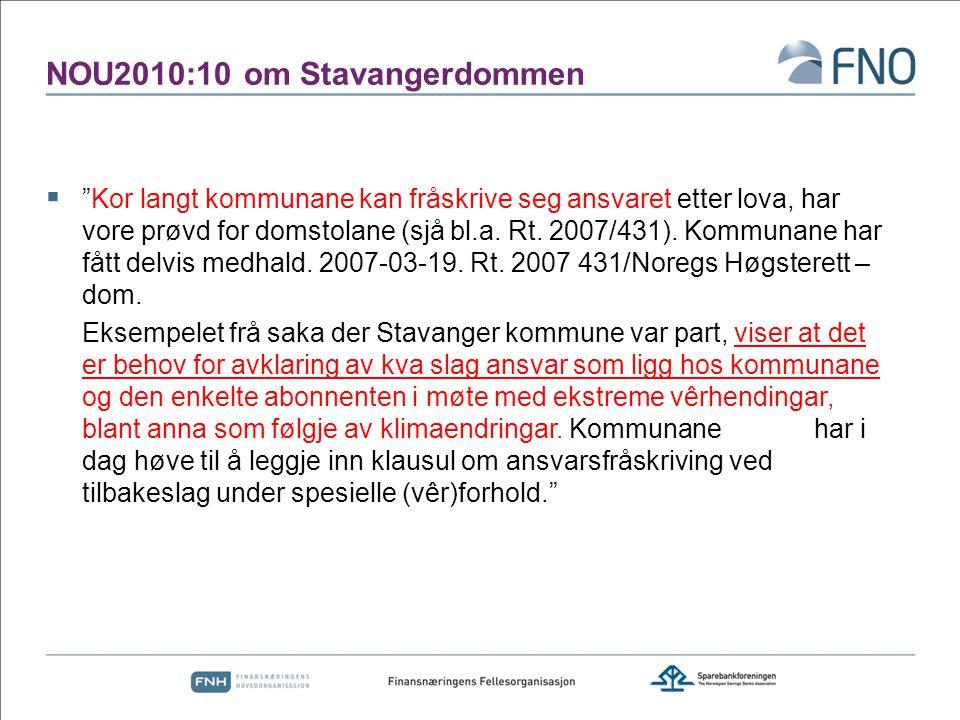 NOU2010:10 om Stavangerdommen