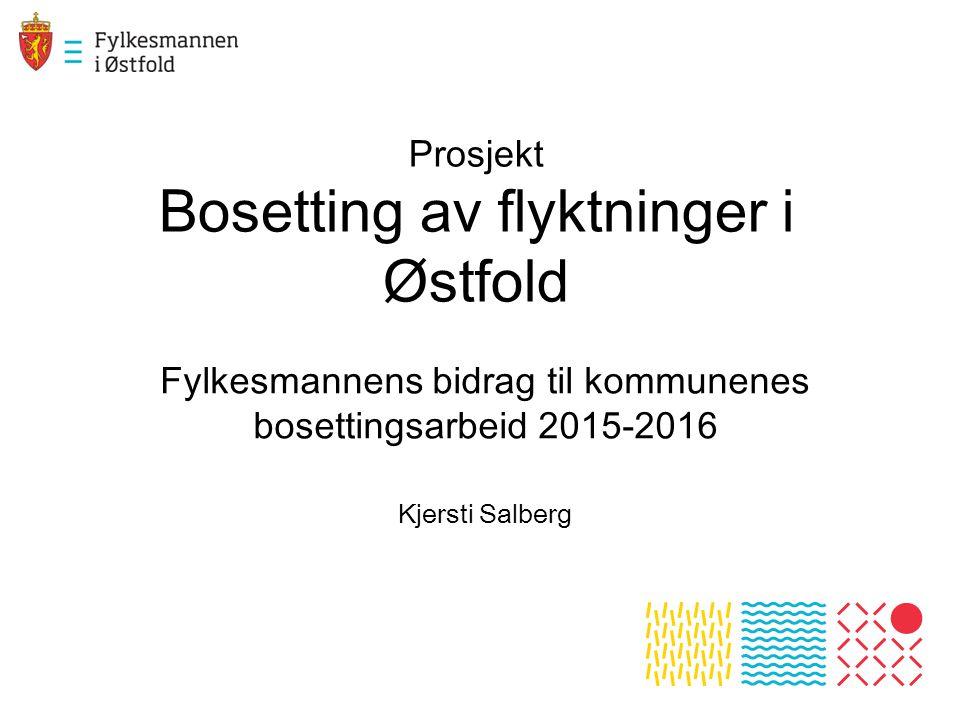Prosjekt Bosetting av flyktninger i Østfold