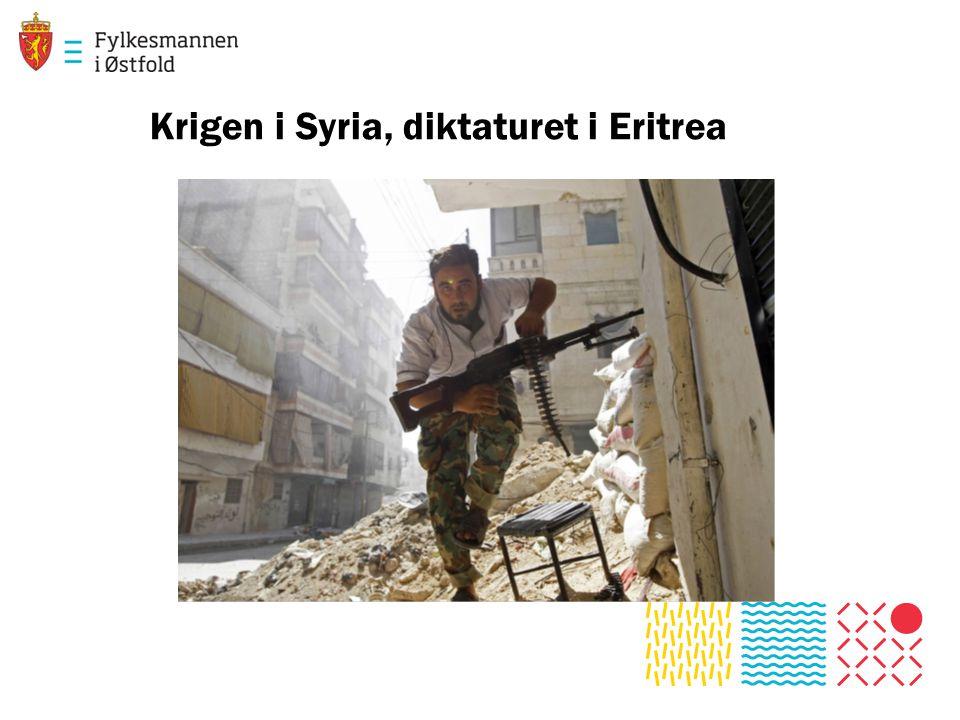 Krigen i Syria, diktaturet i Eritrea