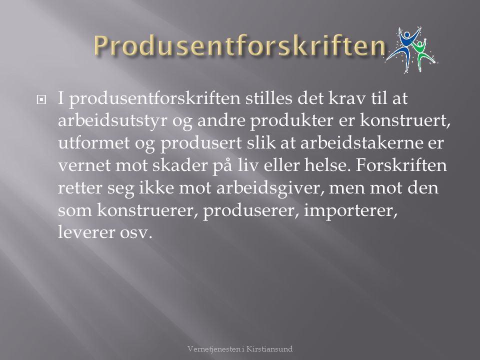 Produsentforskriften