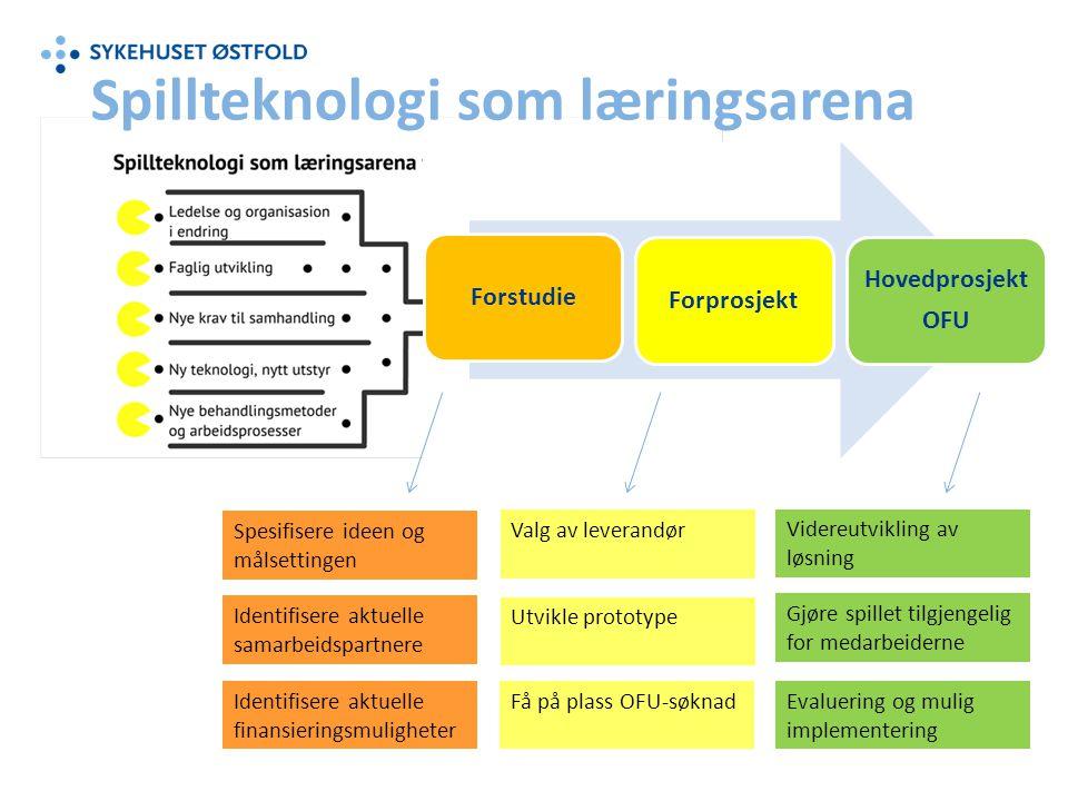 Spillteknologi som læringsarena