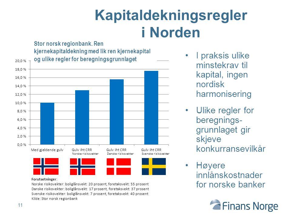 Kapitaldekningsregler i Norden