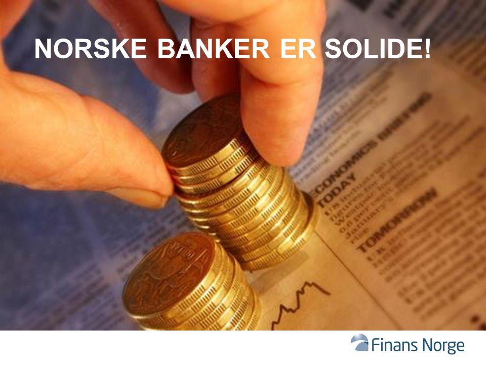 norske banker er solide!