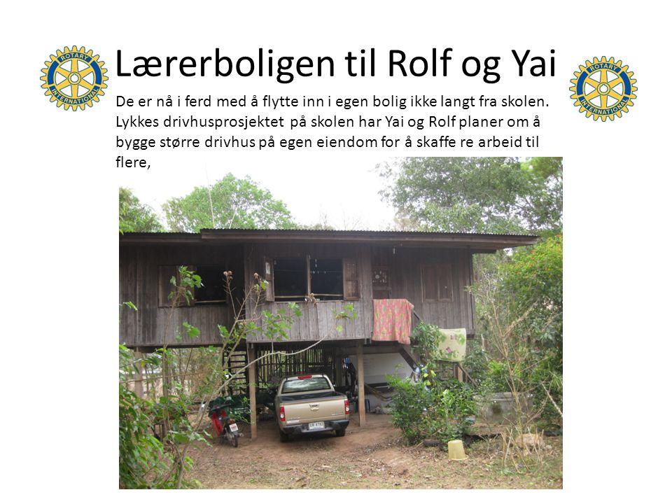 Lærerboligen til Rolf og Yai