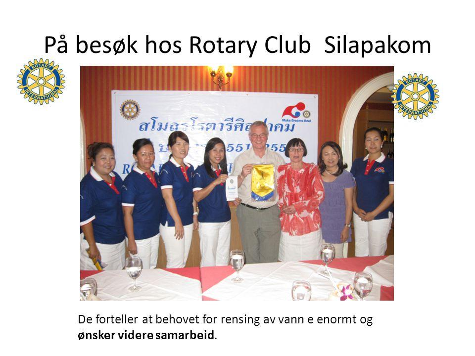 På besøk hos Rotary Club Silapakom
