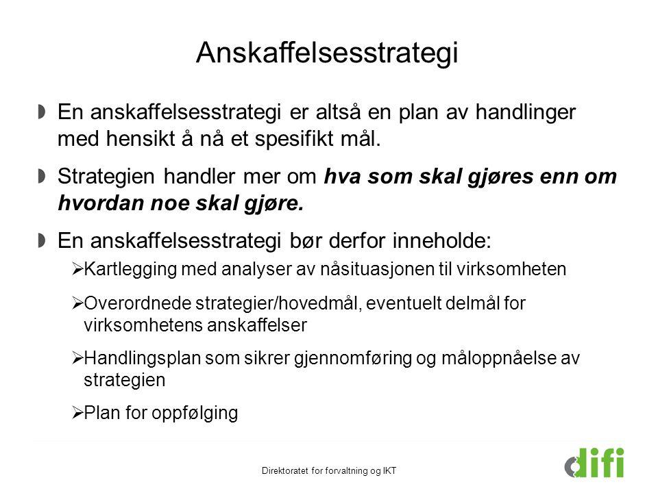 Anskaffelsesstrategi