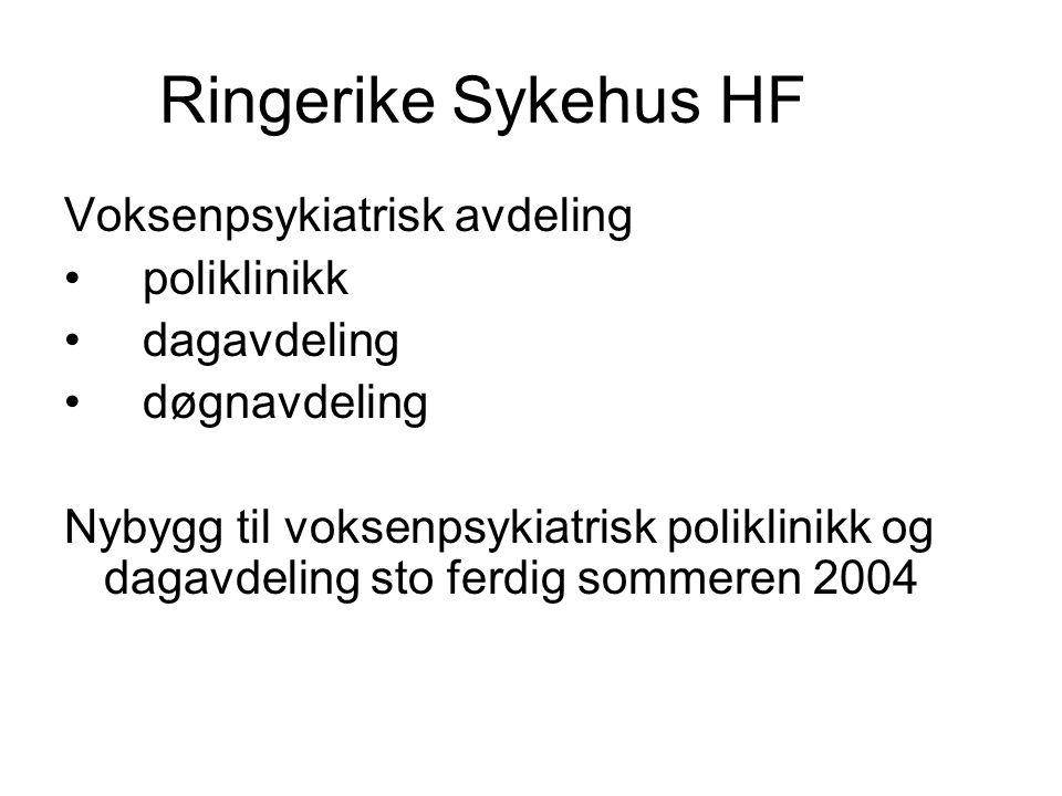 Ringerike Sykehus HF Voksenpsykiatrisk avdeling poliklinikk