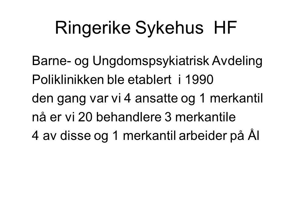 Ringerike Sykehus HF Barne- og Ungdomspsykiatrisk Avdeling