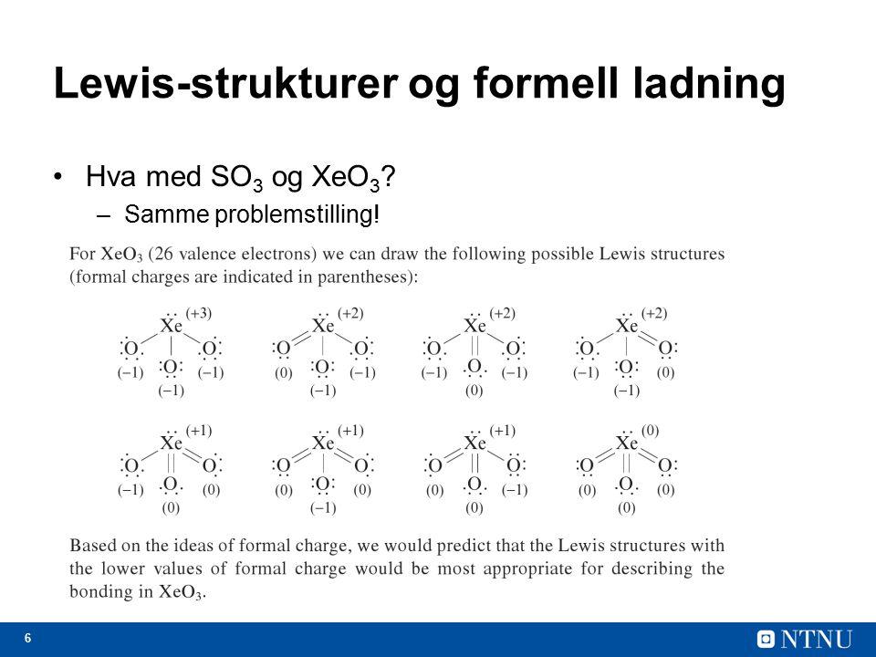 Lewis-strukturer og formell ladning