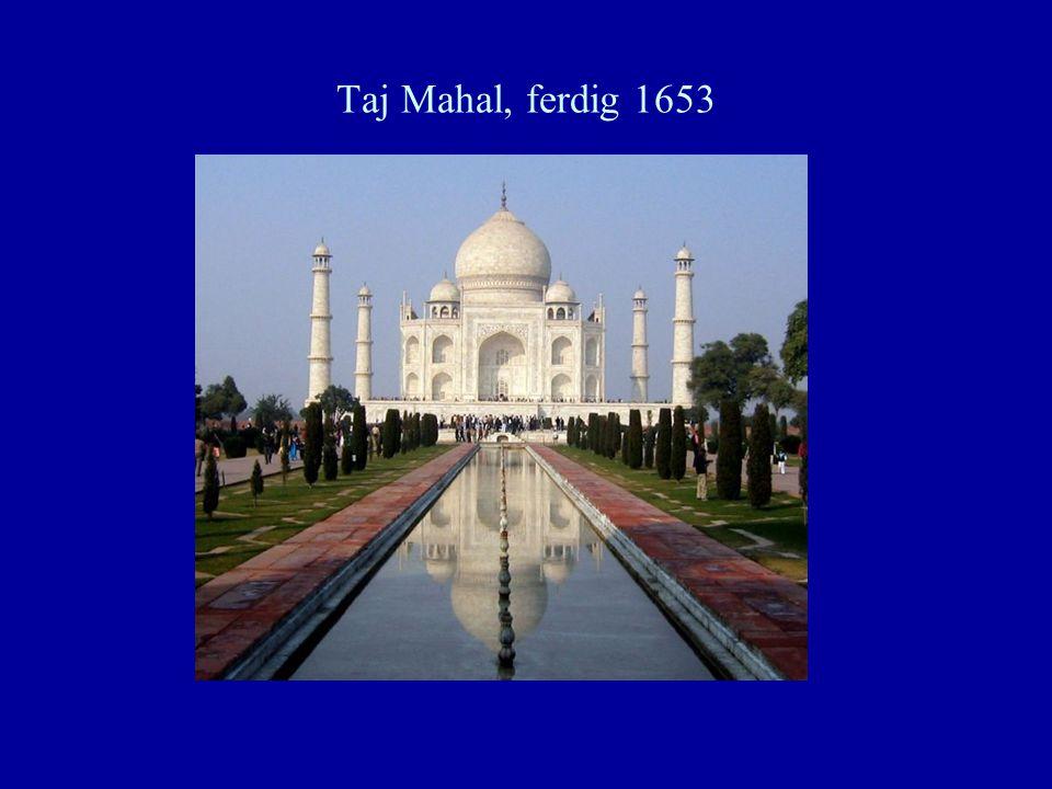 Taj Mahal, ferdig 1653