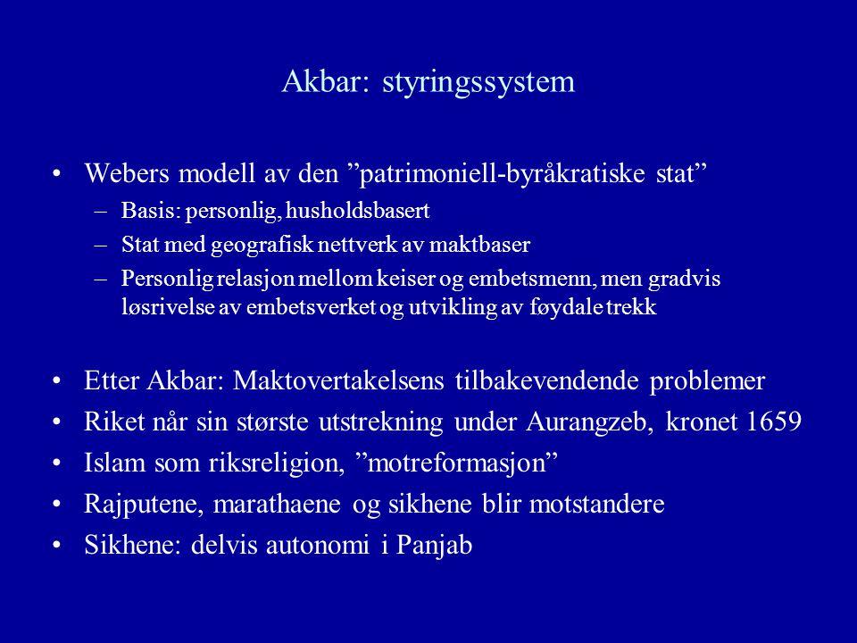 Akbar: styringssystem