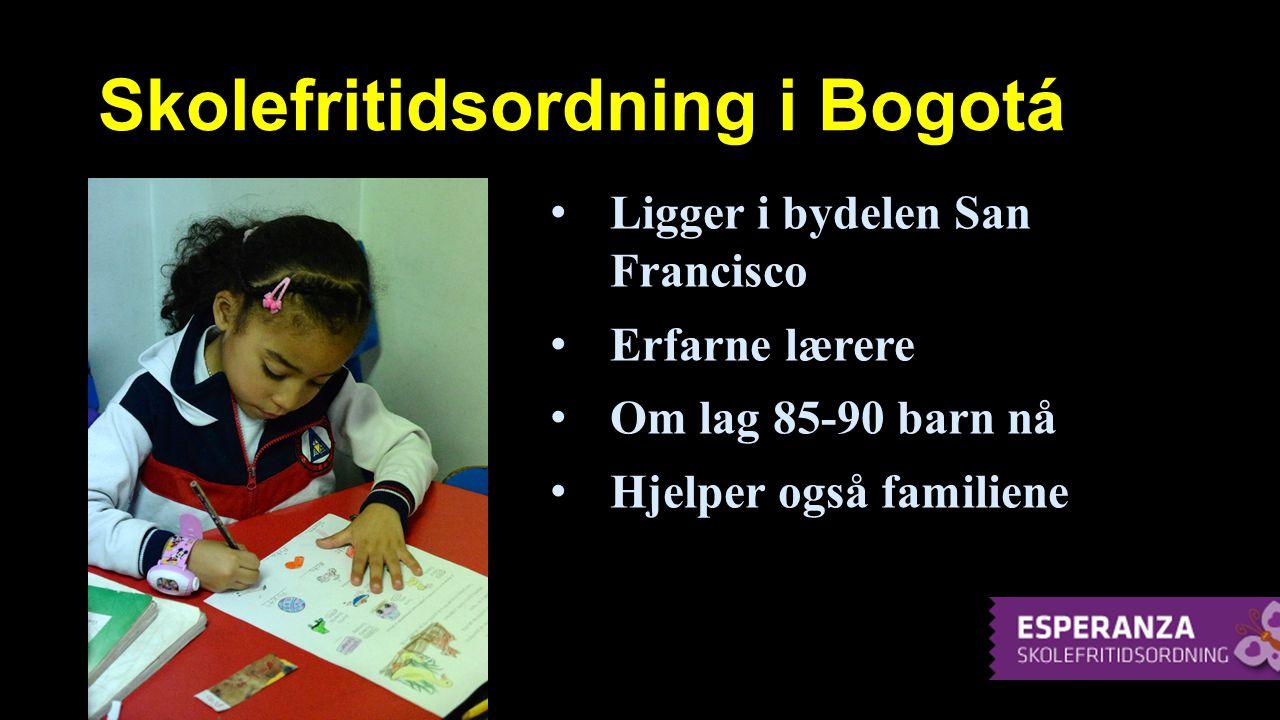 Skolefritidsordning i Bogotá