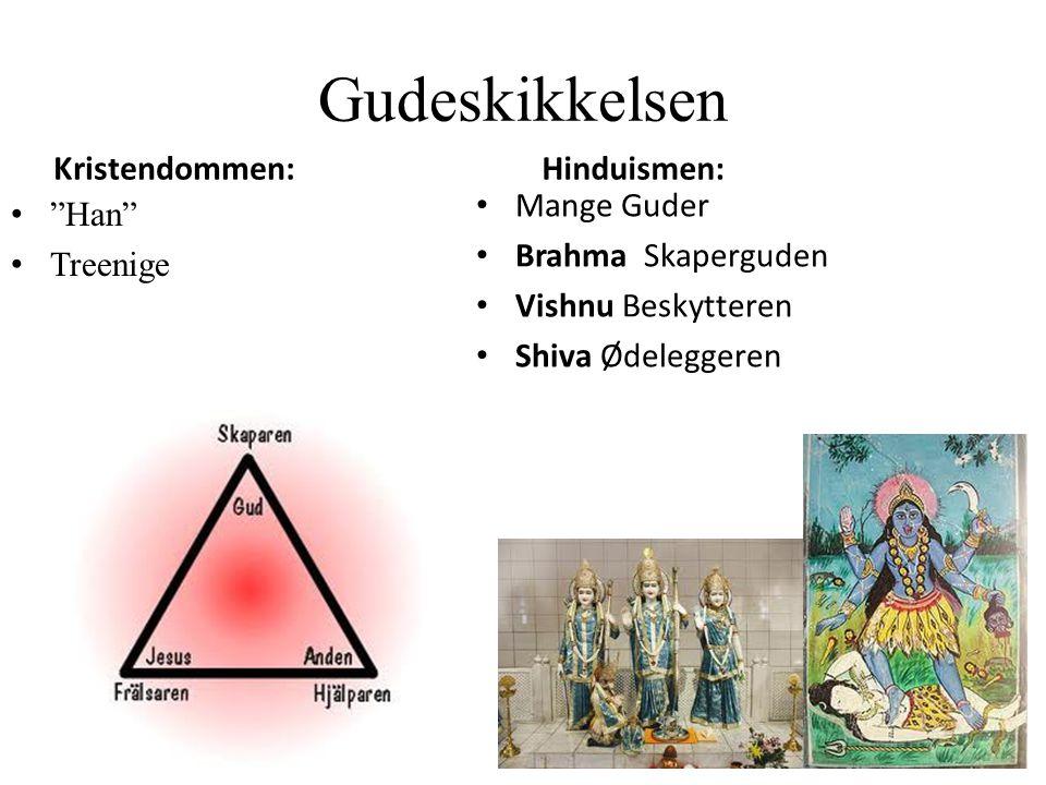 Gudeskikkelsen Kristendommen: Hinduismen: Mange Guder