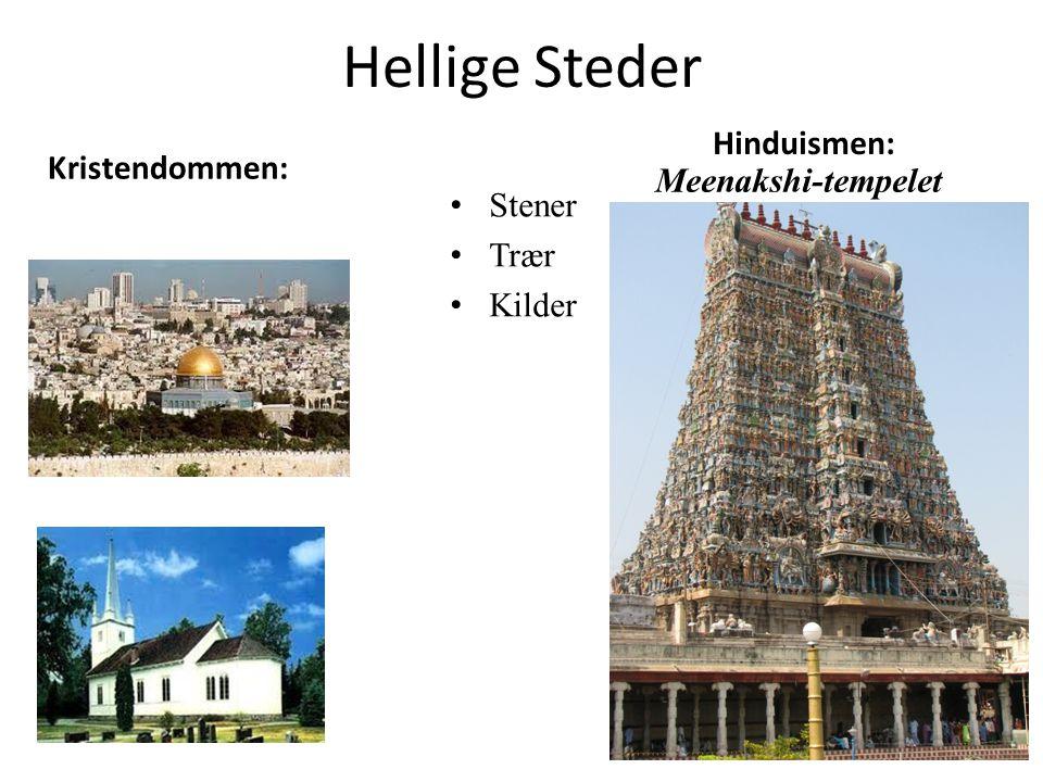 Hellige Steder Hinduismen: Kristendommen: Meenakshi-tempelet Stener