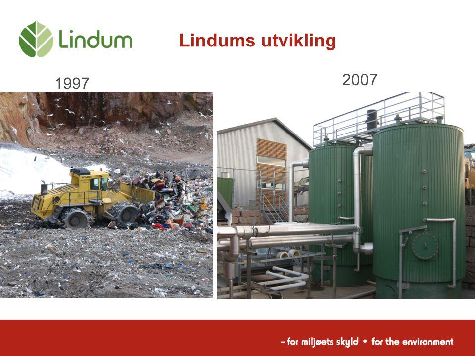 Lindums utvikling 2007 1997