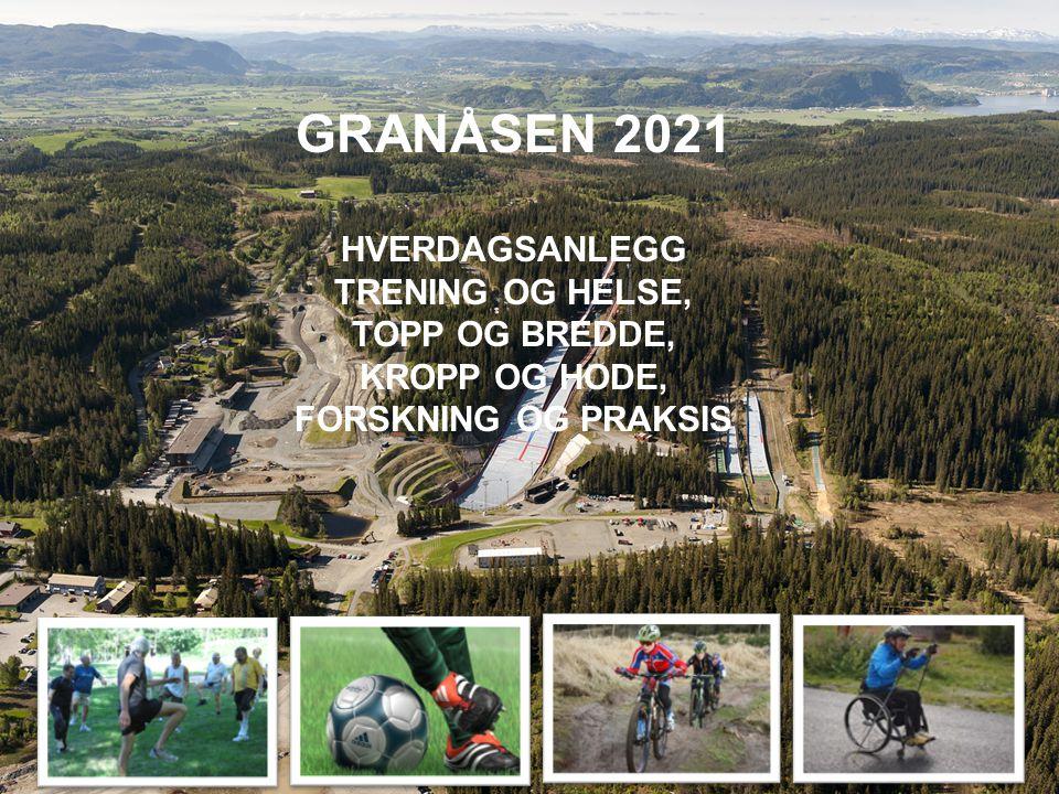 GRANÅSEN 2021 HVERDAGSANLEGG TRENING OG HELSE, TOPP OG BREDDE,